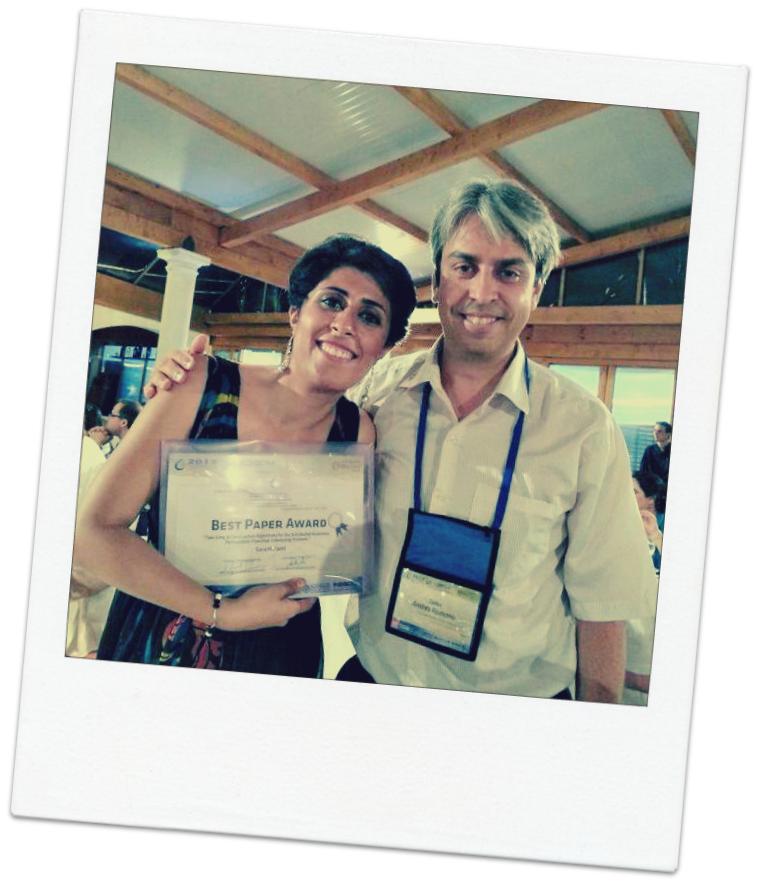 Sara best paper award